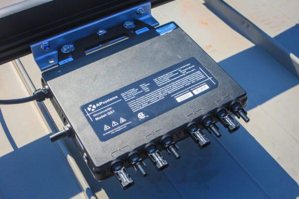 Detalle instalación APsystem-QS1